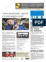 Asbury Park Press front page Tuesday, Nov. 11 2014