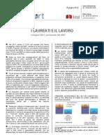 I Laureati e Il Lavoro - 08-Giu-2012 - Testo Integrale