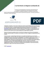Farmaci Innovativi Sul Territorio La Regione Lombardia Dà Il Buon Esempio