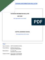 Sample Bulletin