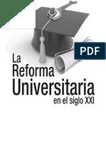 Reforma Universitaria Actual
