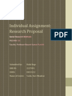 SRM Individual Assignment - Rishi Rege