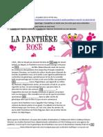 France Info - La Panthère rose