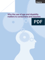 Why the Use of Age and Disability Matters