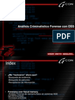 ANALISIS CRIMINOLOGICO FORENSE