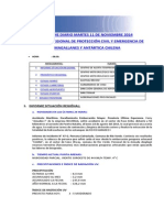 Informe Diario Onemi Magallanes 11.11.2014