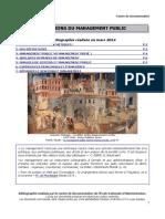 Bib GMP Évolutionsdumanagementpublic Lb 2014