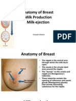 Anatomy of Breast, Milk Production, And Milk-ejection.ppt