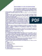 IN IBAMA n° 112 de 21.08.06 - DOF e conceito produto e subproduto florestal