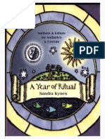 Sandra Kynes - A Year of Ritual