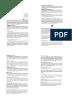 Glossaire Complété Par Votre Serviteur - Cours D_Institutions Britaniques Avec S. Janssens