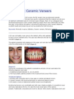 Biomimetic Ceramic Veneers JURNAL