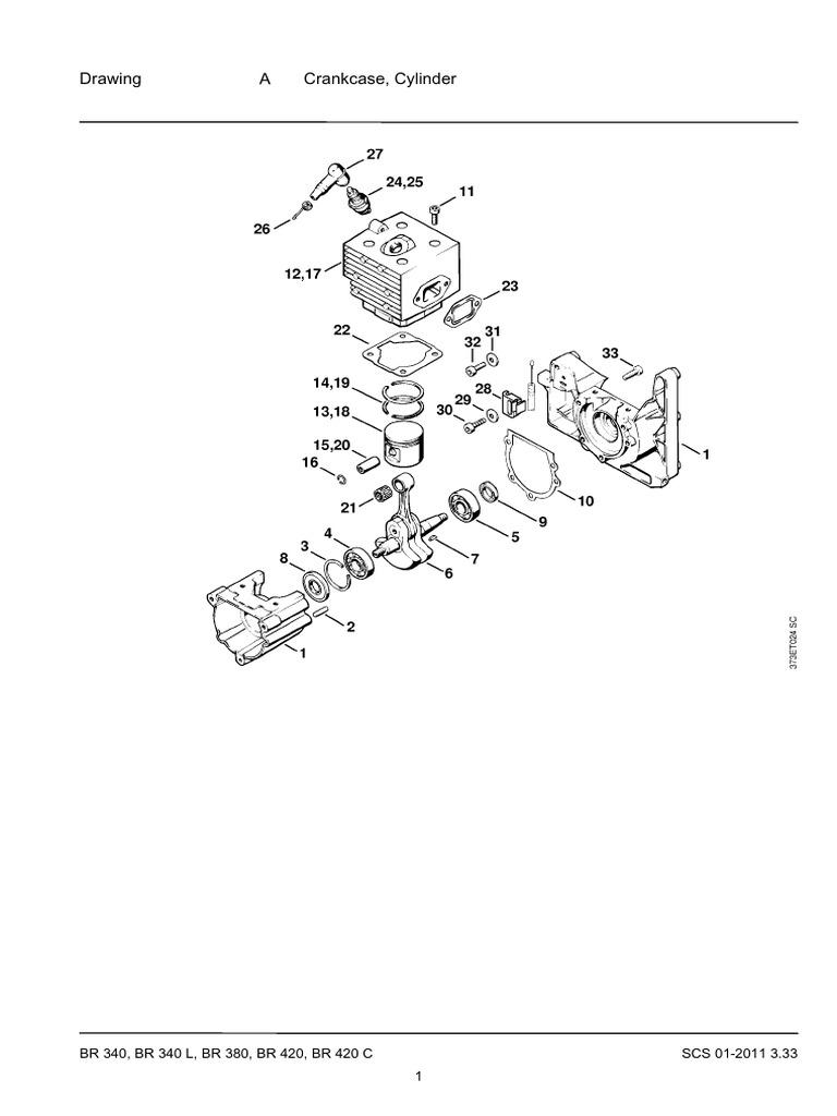 Stihl Br 500 Parts Diagram Manual Wire Diagrams Chainsaw On 600 Carburetor List Br340 Br340l Br380 Br420 Br420c 4203
