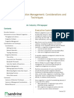 Network Congestion Management