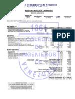 Análisis de Precios Unitarios Demolicion 1