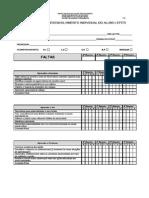 Formulario de Avaliação Do Aluno F-8 (Ficha Aluno)2014