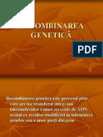RECOMBINAREA GENETICĂ.ppt