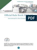 Igc-lpu Rule Book 2014