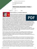 Andreas Maia - Para Onde Vai a Democracia Socialista (Pt VII)