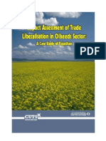Case Study-Impact Assessment of Trade Liberalisation in Oilseeds Sector-Rajasthan