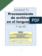 Procesamiento de Archivos en c