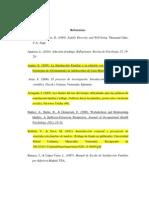 Referencias bibliográficas arregladas