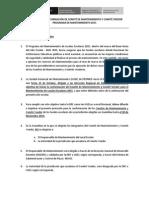 Protocolo de Conformación de Comites de Mantenimiento y Veedor