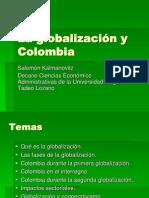 Glovalizacion en Colombia
