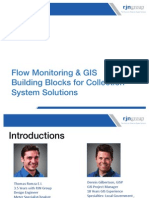 3-Flow Monitoring & GIS Building Blocks for Collection System Solutions - Part 2