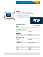 678 JDSU JD7105B Base Station Analyser