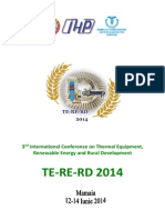 Proceedings TERERD 2014