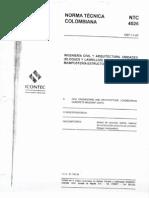Ntc 4026 Unidades Bloques y Ladrillos de Concreto Mamposteria Estructural