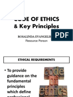 2- 2014  CODE OF ETHICS & Key Principles_no background.ppt