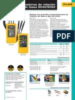 Fluke 9040-9062 Especificaciones