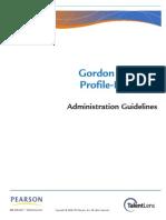 GPPI Administration Guidelines