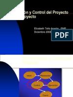 Monitorizacion y Control Del Proyecto