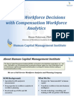 Driving Workforce Decisions With Compensation Workforce Analytics