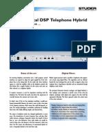 DSP Tel Hybrid Flyer Hr