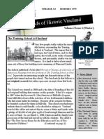 1999 Winter Newsletter