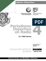 Periodismo Deportivo en Radio - Modulo 4