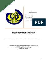 Kel3 Paper Moneter Redenominasi