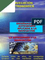 Ensenanza de Astronomia Aplicada a La Navegacion