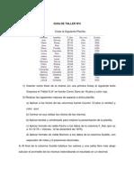 GUIA de TALLER Primera Parte Excel