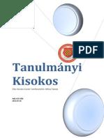 Tanulmanyi Kisokos