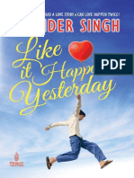 Like It Happened Yesterday - Singh Ravinder