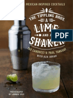 THE TIPPLING BROS. A LIME AND A SHAKER by Tad Carducci and Paul Tanguay