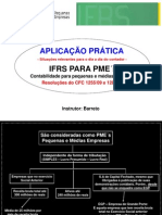 IFRS PMES Pequena Demonstracao