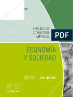ECONOMIA Y SOCIEDAD - N 2 - OCTUBRE 2012 - PARAGUAY - PORTALGUARANI