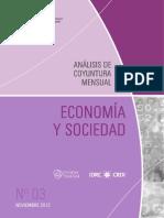 ECONOMIA Y SOCIEDAD - N 3 - NOVIEMBRE 2012 - PARAGUAY - PORTALGUARANI