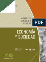 ECONOMIA Y SOCIEDAD - N 5 - FEBRERO 2013 - PARAGUAY - PORTALGUARANI